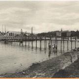 Marinebasen sett fra Strandpromenaden