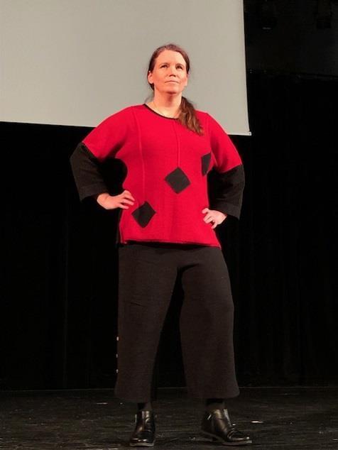 Modevisning med författaren Åsa Ringdahl