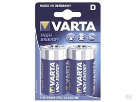 Batteri Varta LR20 2-p