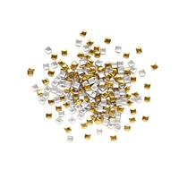 KN- STUDS Square GOLD 4mm