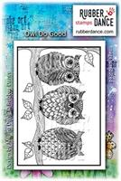 Rubber stamp Owl do Good