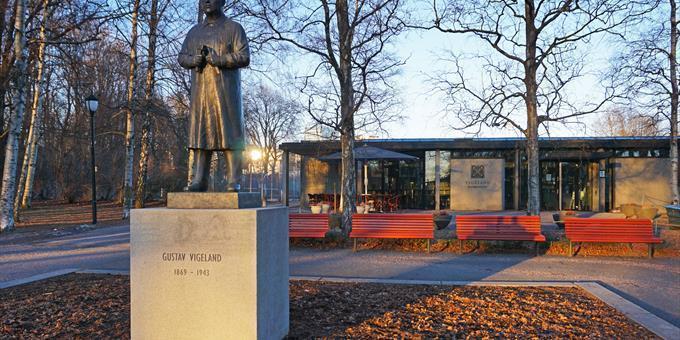 Gustav Vigeland og besøkssenteret