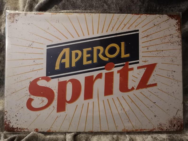 Aperol spritz, peltitaulu