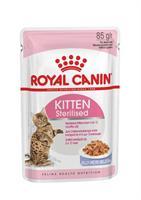 RC FHN Kitten Sterilised Jelly12x85g