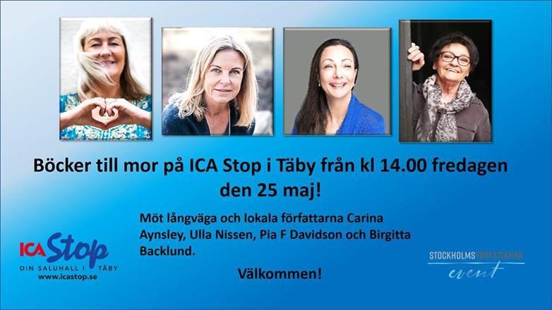 Mors Dag ICA Stop Täby 25/5