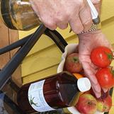 Håll frukt och grönsaker rena med Kolloidalt Silver