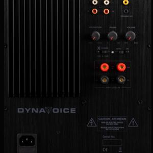 DYNAVOICE Challenger Sub CSB-V15 musta ja valkoinen
