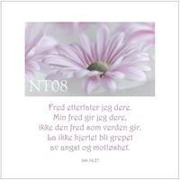 Postkort Joh 14,27