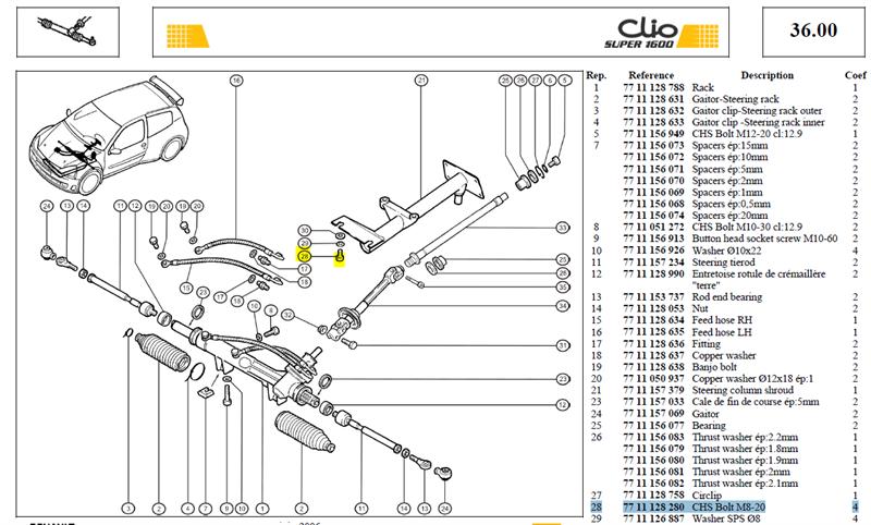 VIS CHC M8-125  LG 20 CL 12-9