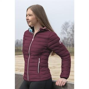 Jacka Quilted bordeaux