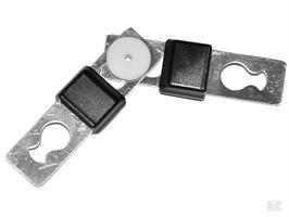 Litzclip Skarvlås för rep upp till 6mm 6-p