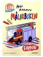 HÄR KOMMER MÅLARBOKEN  FORDON