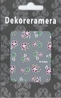 DM- Sticker Flower poinsettia