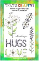 A5 Clear stamp set Flower Hugs