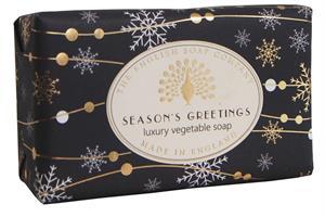Festive Wrapped Soap Season Greetings  200gr