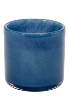 LJUSLYKTA  VOTIVE CANDY BLUE