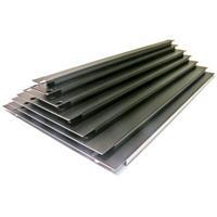 2HE täckpanel, stål,svart,vikt