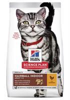 Hills Katt Adult Hairball&Indoor Chicken 1,5kg