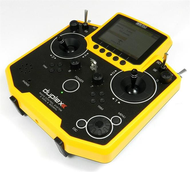 Jeti Duplex DS-12 EX lähetin Multimode Keltainen