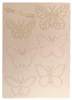 A4 Craftyboard Butterflies