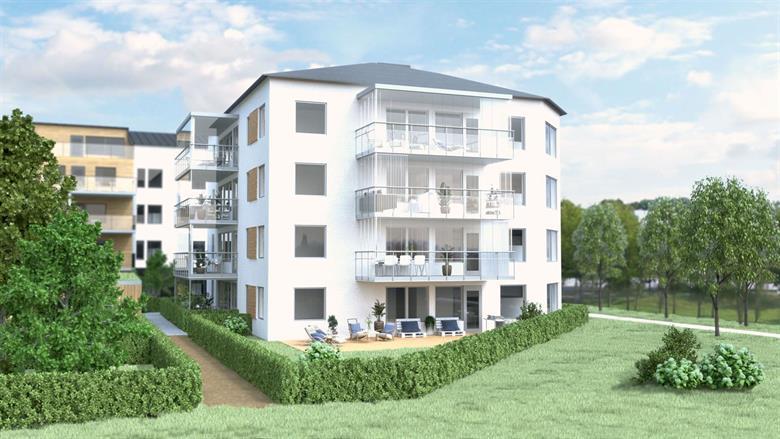 Nybyggnation flerbostadshus, Koggen 8 i Nyköping