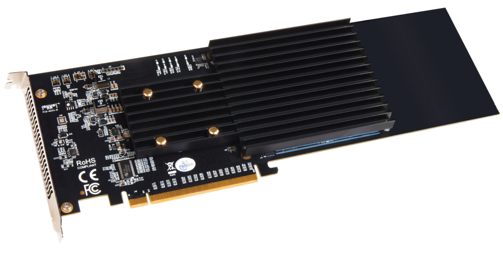 Sonnet PCIe card for 4 x M2-SSD