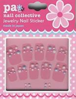 DL- Sticker Pearl mixed blue pink white