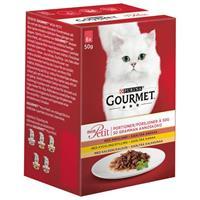 Gourmet Mon Petit Anka/Kyckling/Kalkon 6*50g