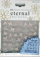 DL- Sticker Butterfly pink