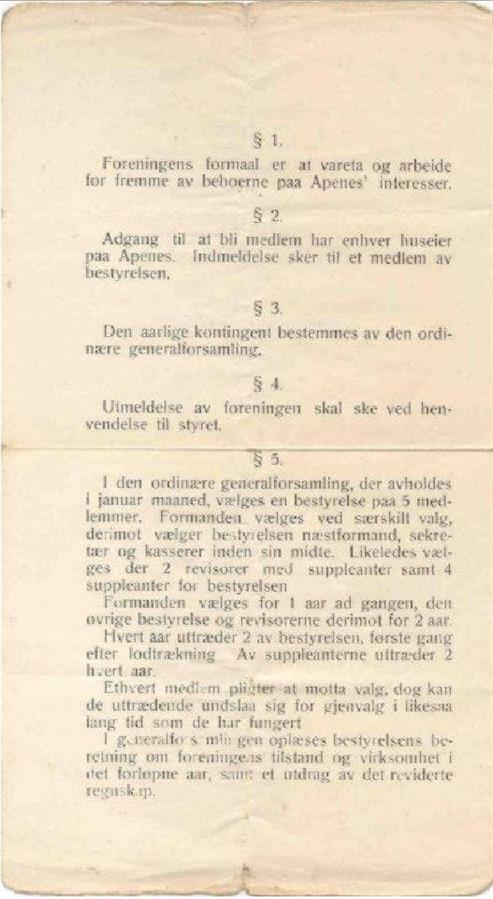 "De første ""love"" anno 1919 (s.2)"