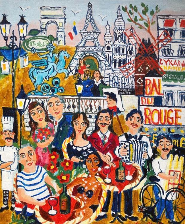 Romantik i Paris