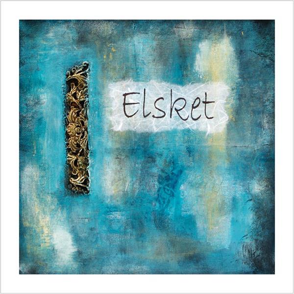 Kunstkort: Elsket