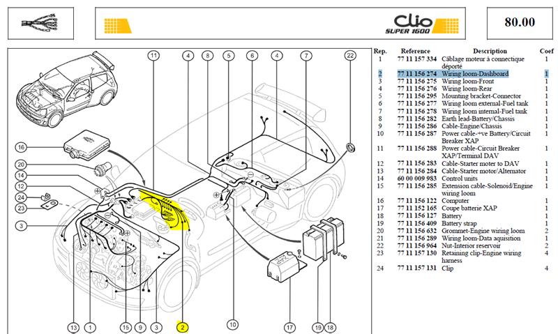 CABLAGE PL-BOR - Wiring loom-Dashboard