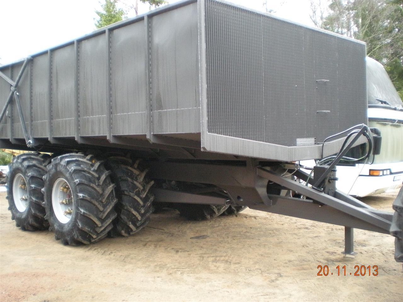 Vagnbygge 2013 till mosse åt kund