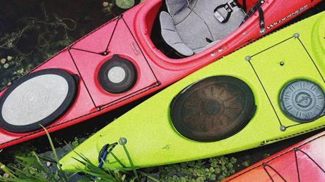 Tillfällig förvaring av kanoter/kajaker i hamnen