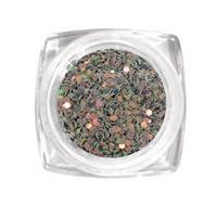 KN- Jar glitter GREY PINK