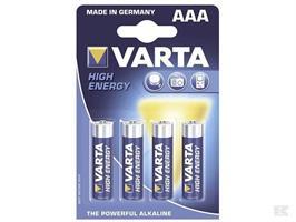 Batteri Varta AAA LR3 4-p