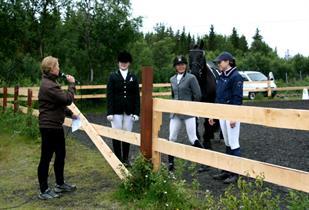 Intervju med laglederne for hestelagene