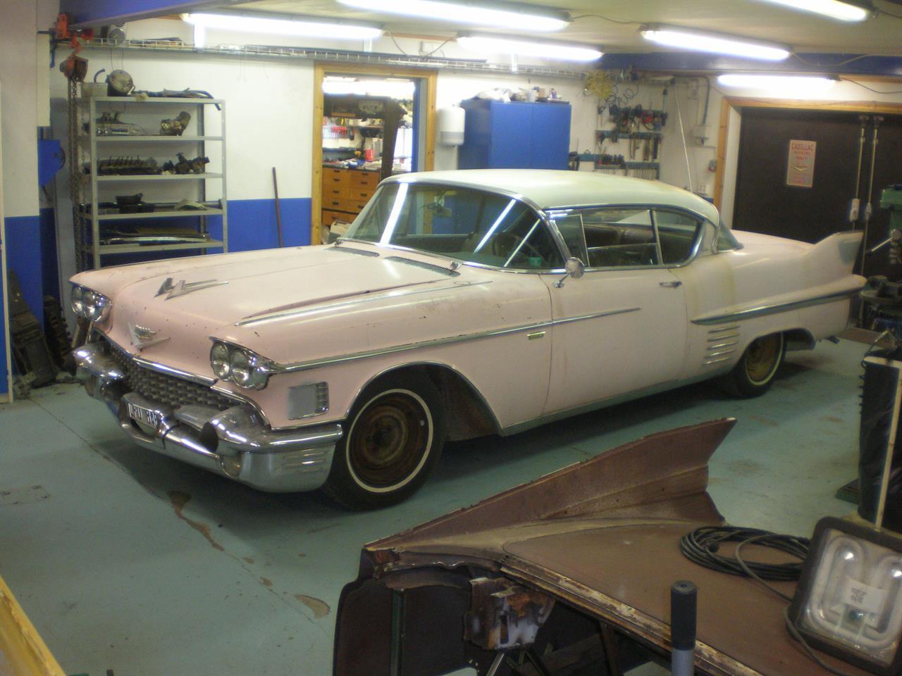 Cadillac -58 CDV