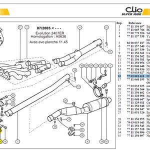 VIS HM6X100 LG:16 CL:10,9 - Bolt M6-16