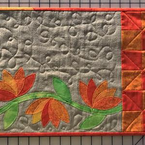 Mønster til blomsterranke