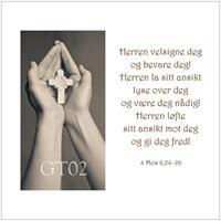Postkort - Herrens velsignelse