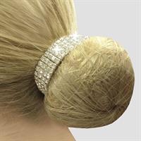 Crystal Bun Ring