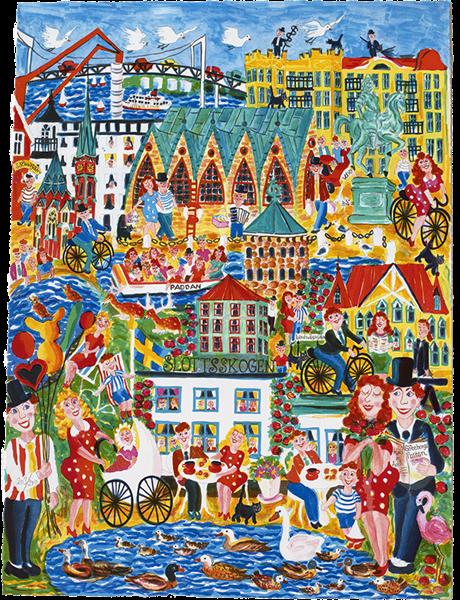 Fest o glädje i Göteborg