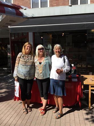 Kompisar hälsade på i Söderhamn