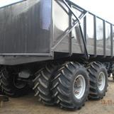 Färdigbyggd vagn på kunds beställning