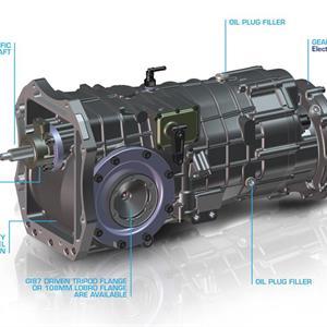 6 Speed Sl90-20 Gearbox 4wd - overhang engine
