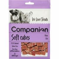 Companion Soft Cubes Nöt 80g
