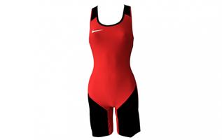 Nike Weightlifting Suit Ladies Rød