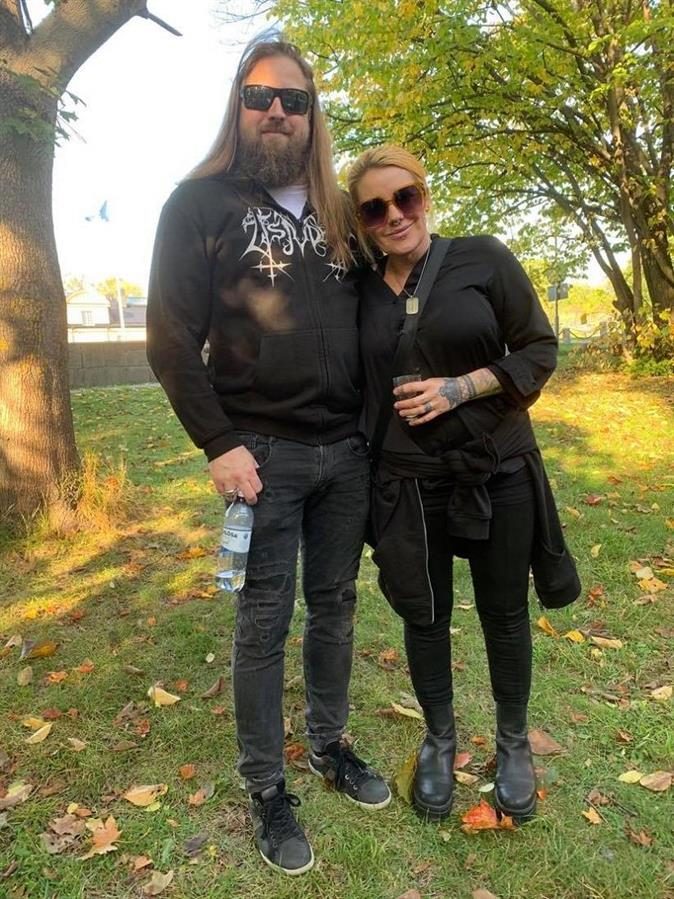 Petra Regin med pojkvän
